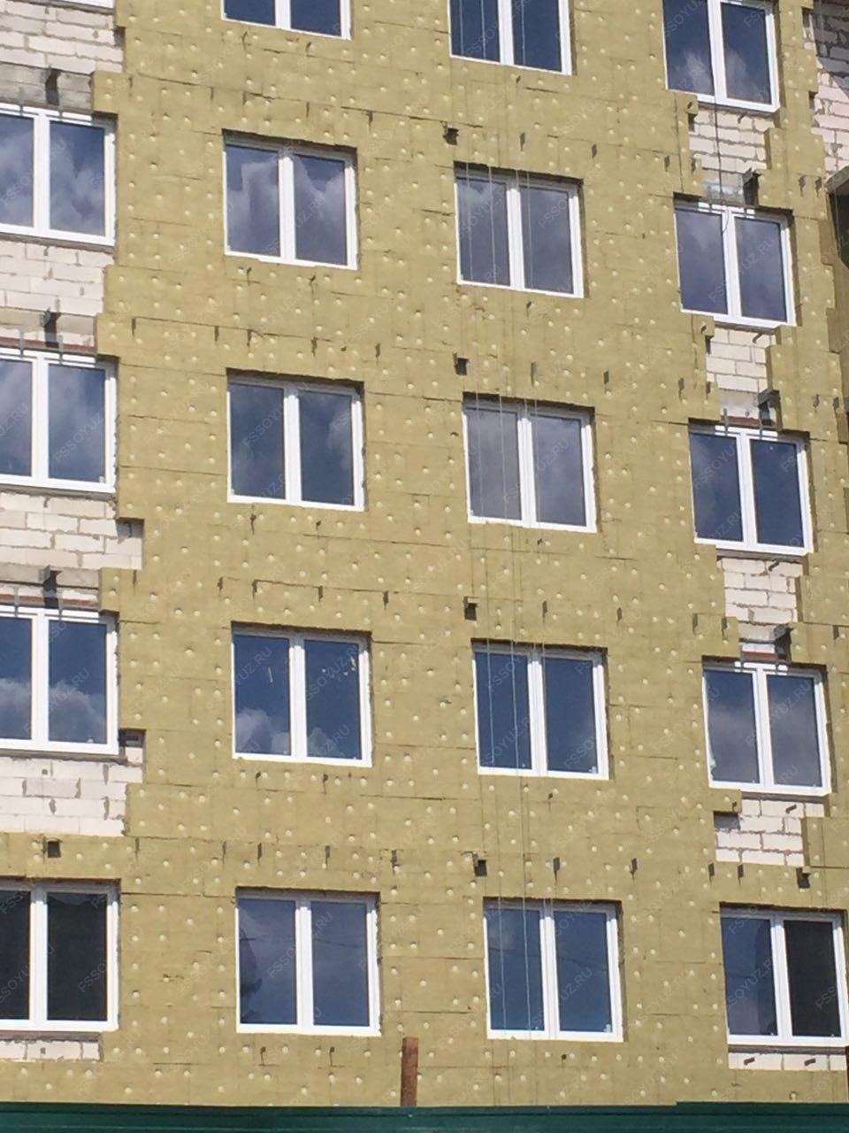Смета работ по утеплению фасада